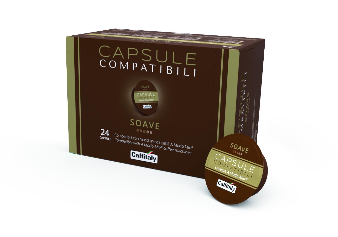 Доставка на кафе капсула La Capsule SOAVE – капсули съвместими с Lavazza A Modo Mio