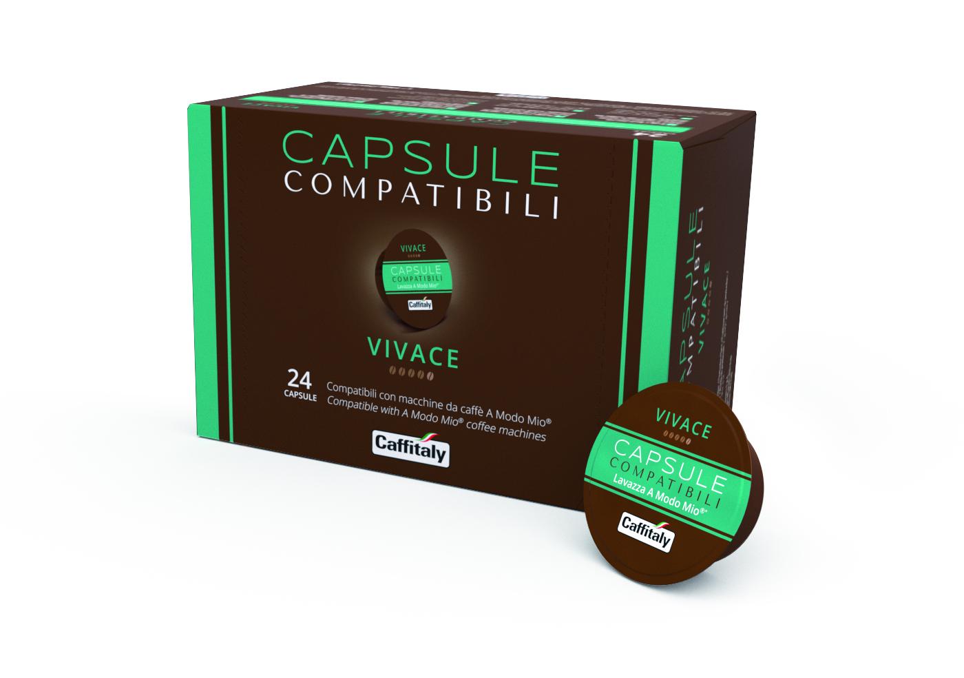 Доставка на кафе капсула La Capsule VIVACE – капсули съвместими с Lavazza A Modo Mio