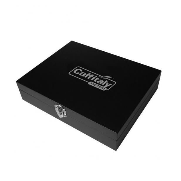 Дървена кутия за 24 капсули