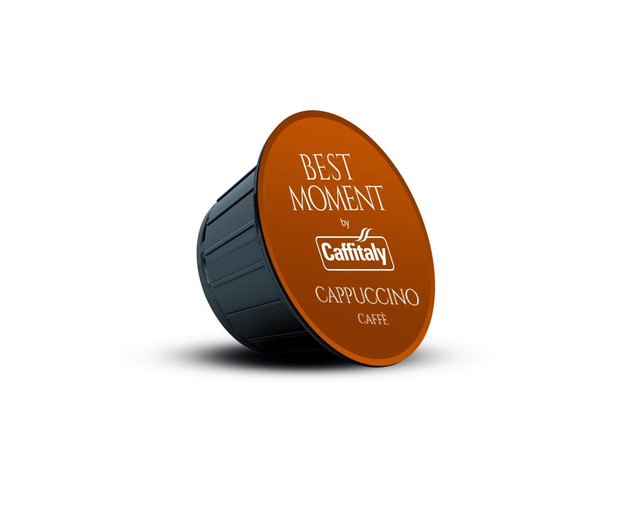 Доставка на кафе капсули Best Moment CAPPUCCINO – съвместими с NESCAFE'®* Dolce Gusto®*