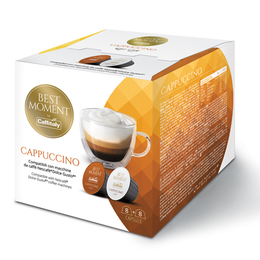 Best Moment CAPPUCCINO – съвместими с NESCAFE'®* Dolce Gusto®*