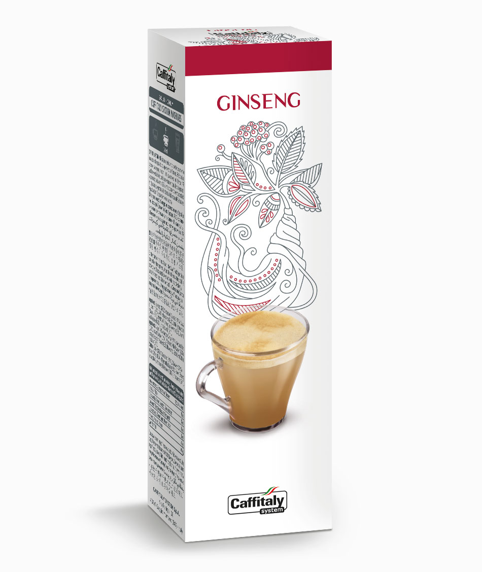 Кафе капсули Ecaffe GINSENG