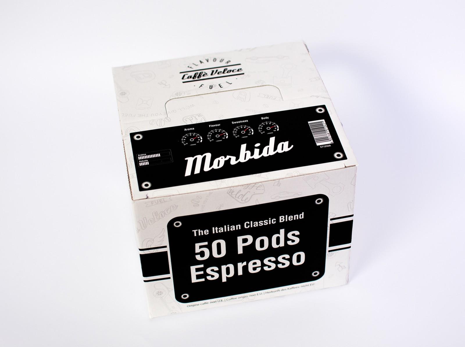Кафе дози Veloce Morbida