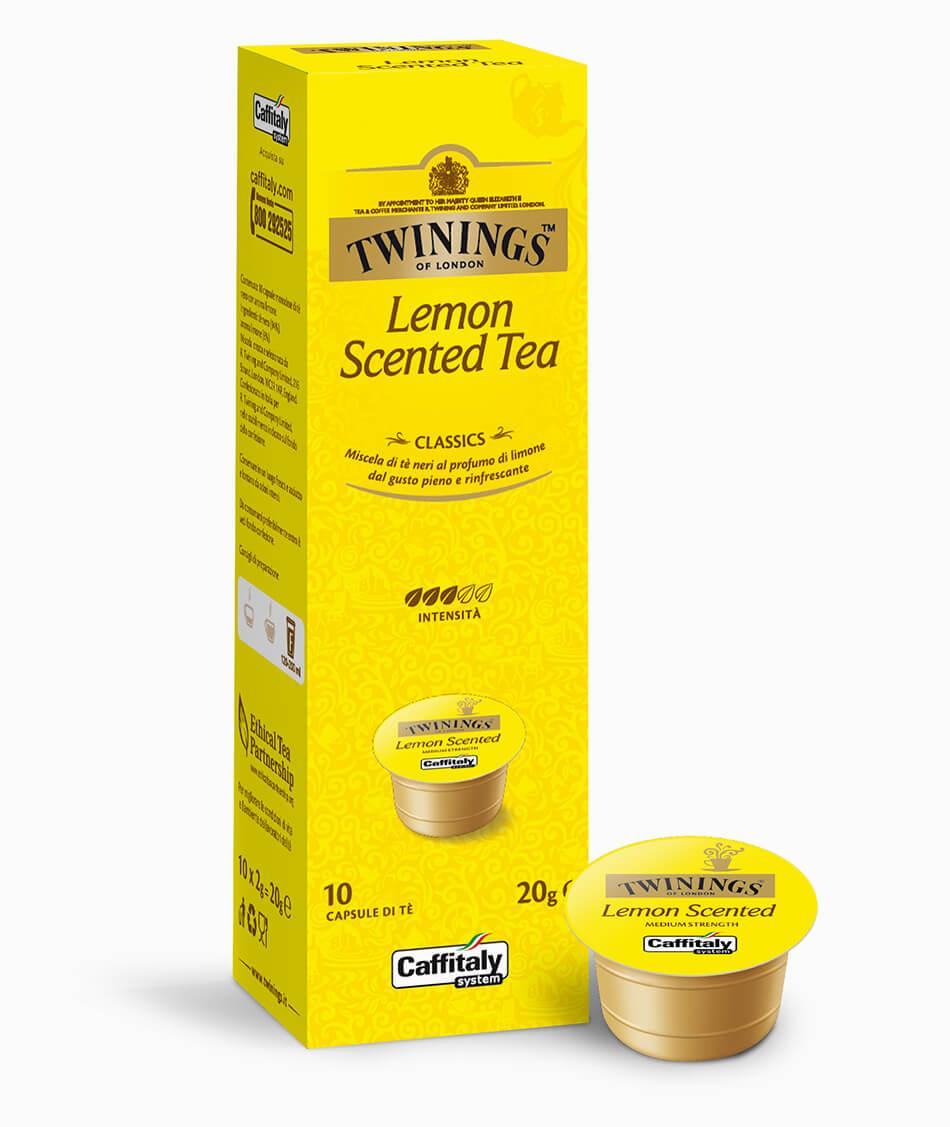 Черен чай с лимон Lemon Scented