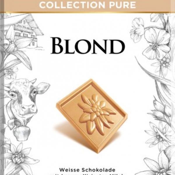 Бял шоколад с карамелизирано мляко