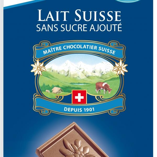 Млечен шоколад без захар