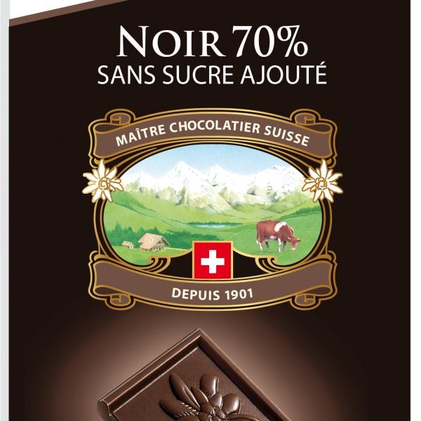 Тъмен шоколад 70% без захар