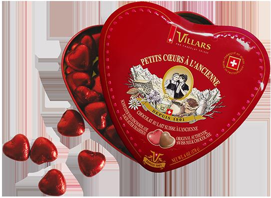 Шоколадови бонбони Сърце 2