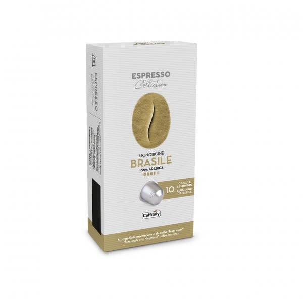 Espresso Collection Brasile – алуминиеви капсули съвместими с Nespresso